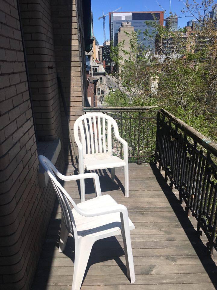 Montréal: Chambre avec Balcon