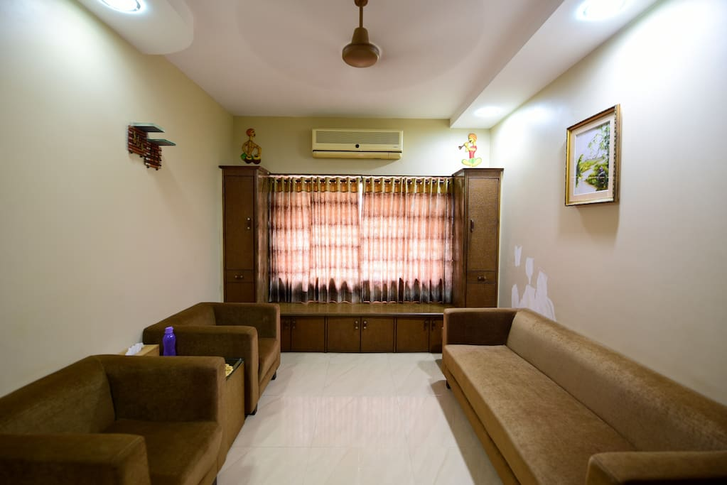 Comfartable Bed In Living Room For Ladies Only Serviced