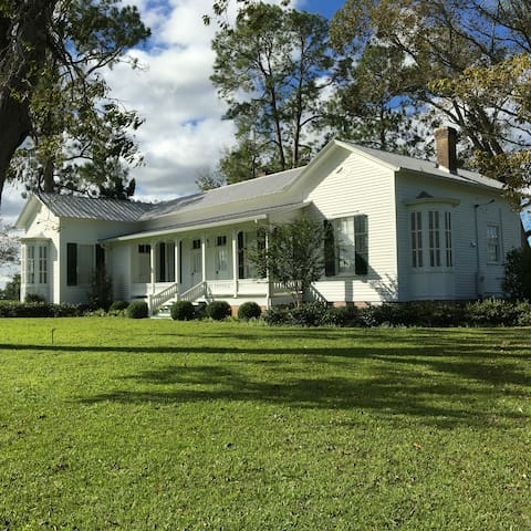 Historic Home Near Thomasville-Valdosta-Monticello - Boston - Huis