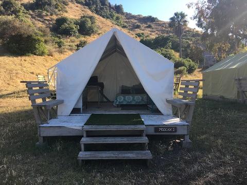 Glamping Tent at Whites Landing Pimu Eco Village