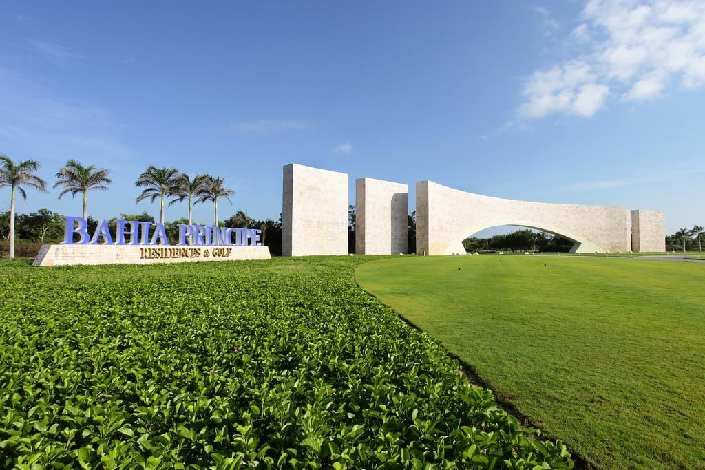 Bahia Principe Resort Entrance