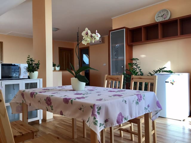 Lake-view family house includes breakfast Rm#201 - Balatonfüred - Rumah