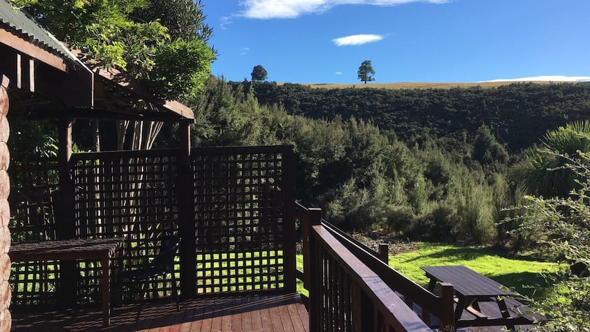 View the mountains, the bush and the surrounding hills; listen to the birds and take in the refreshingly tantalizing mountain air.