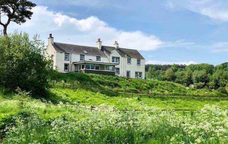 Idillic rural B&B in heart of Scottish Borders