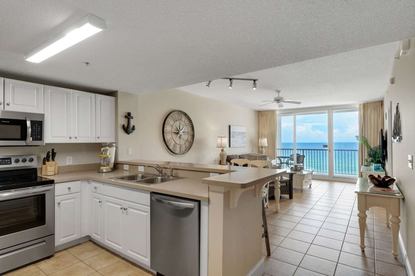 Newly Updated!  Fully Equipped Kitchen and private balcony
