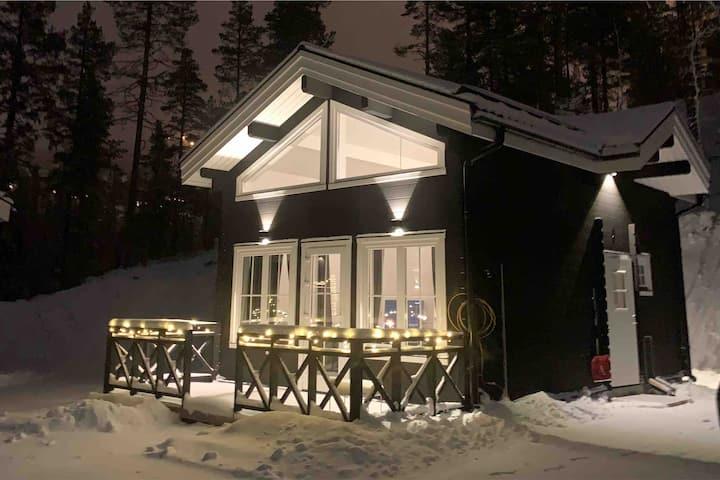 Klockarfjället, Adolf Hallgrensväg Norra. Hus7