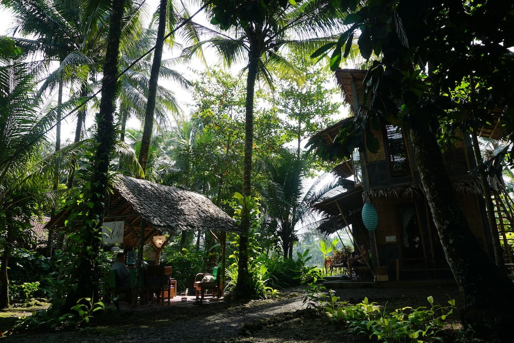 Nature house in a quiet fisherman's village
