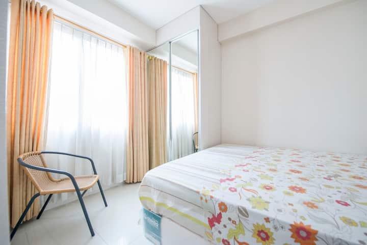 Clean 2 Bedroom Kalibata City Apt + Swimming Pool