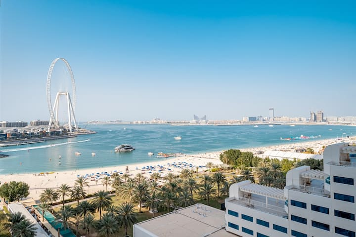 JBR Walk AlBateen 1BR Sea View with Balcony