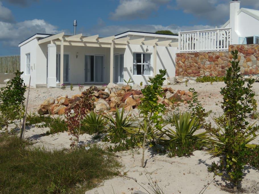 Gästehaus Beata Garten und Terrasse
