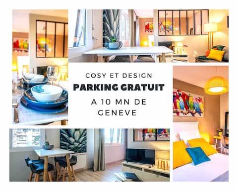LE CHATELET ♥♥ à 10mn de Genève ♥ Parking Gratuit