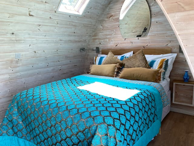 Lily Pod Bedroom area