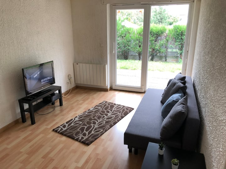 1 Bedroom appartement with garden