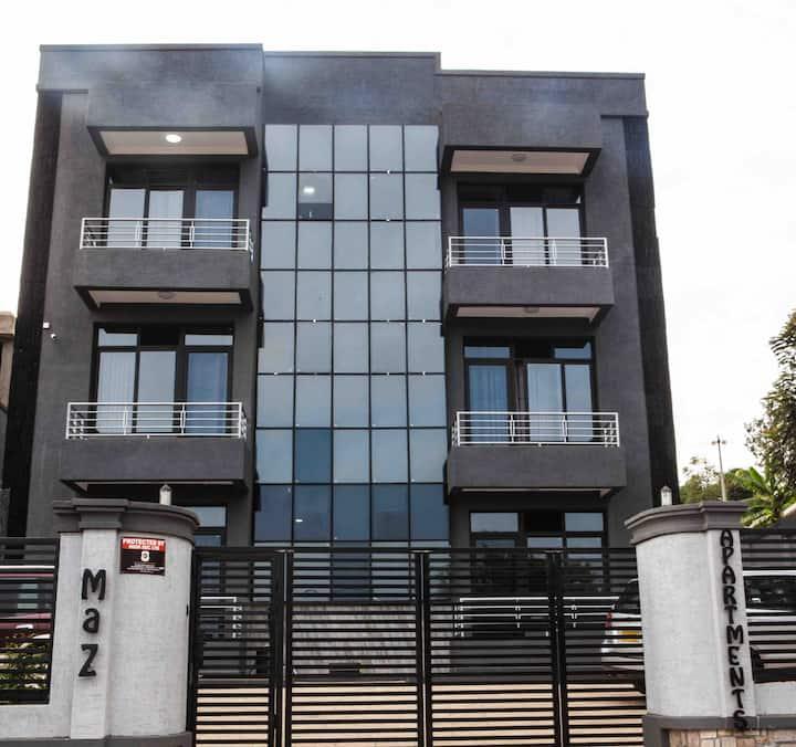Maz Apartments-Brand New,Urban & Spacious.