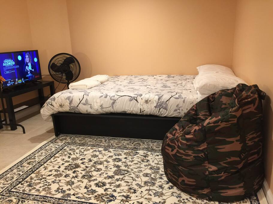 Your very comfortable bed full size bed