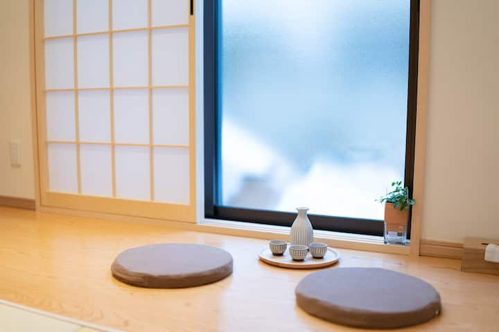 7mins to Namba - New House-Perfect for couple
