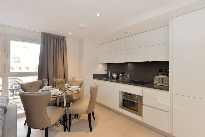 Beautiful One Bedroom Apartment Victoria, London.