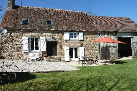 NORMANDY/RESTORATED OLD FARM AS COTTAGE/ROMANTIC. - Saint-Bômer-les-Forges - Cabana