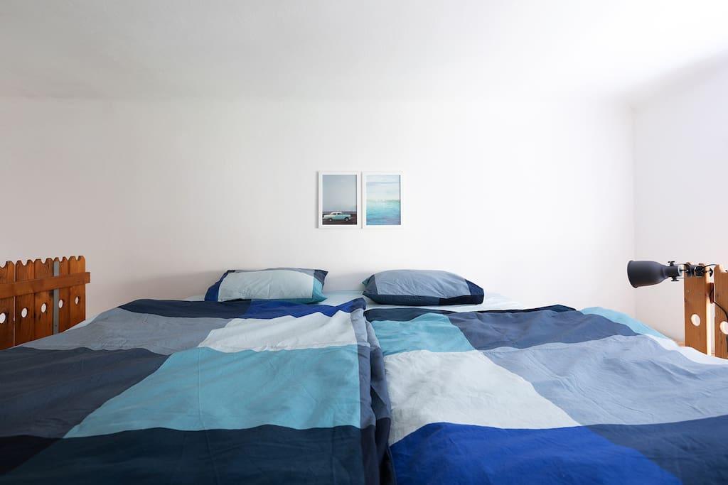 Very nice COMFORTABLE LOFT BED.