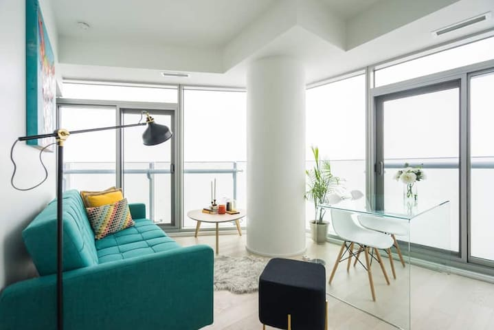 ★★★★High-Rise 1bed Prime Location & Amazing View!~