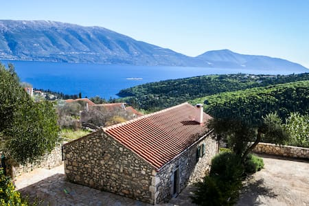 Traditional Villa in Matsoukata with amazing views - Fiskardo