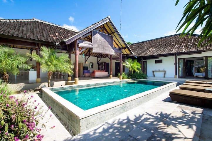 Sun Bathing at Beautiful & Cozy Villa Surga