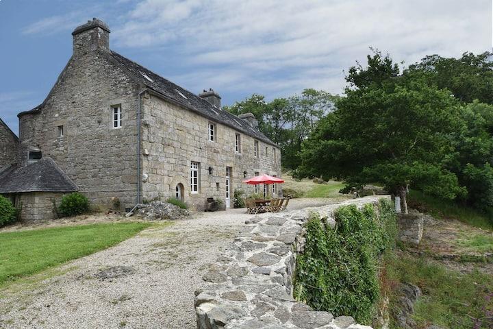 Mansión con patrimonio en Bretaña con terraza