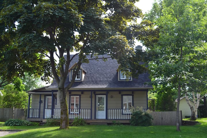 Maison canadienne, à proximité de Québec