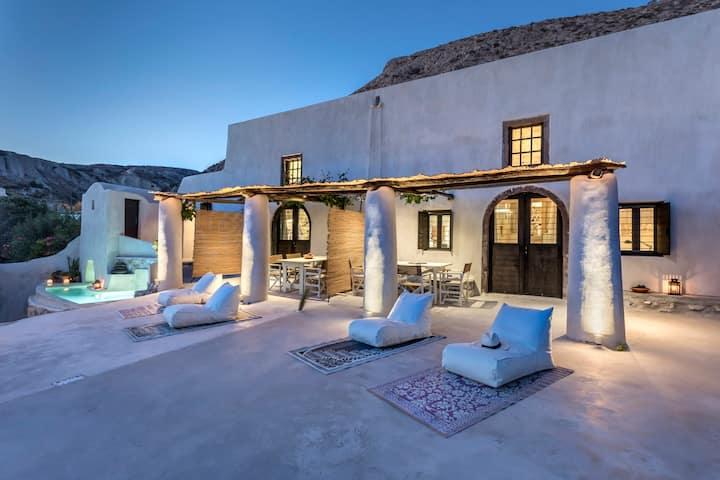 Canava Villas Private   -Winery Estate-Santorini