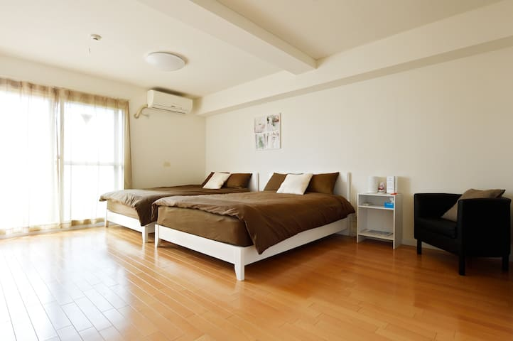 Amerikamura 3 mins walk Great Location! Free Wifi - Chuo Ward, Osaka - Byt