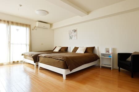 Amerikamura 3 mins walk Great Location! Free Wifi - Chuo Ward, Osaka - Wohnung