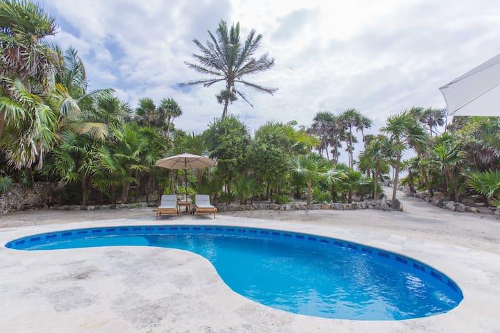 Casa Portuguesa - Oceanfront! - Quintana Roo - Hus