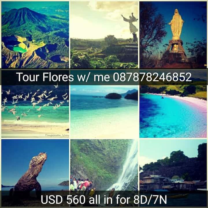 Budget Adventure Flores 6d 5n