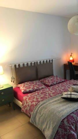 Chambre  dans appartement centre-ville