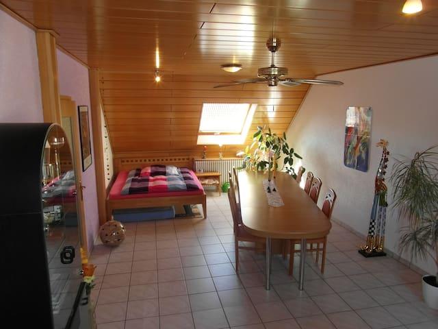 Ruhige Wohnung in der neuen Dorfmitte