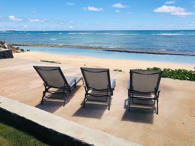 Private OceanFront - Bathtub Beach. Spacious House