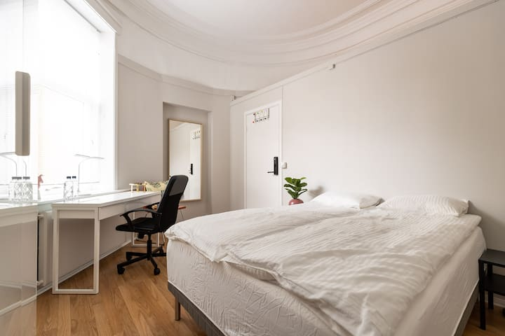 Jotun room in the Heart of Oslo!3 min from castle