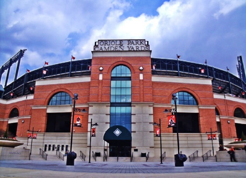 Literally right across the street from Camden yards