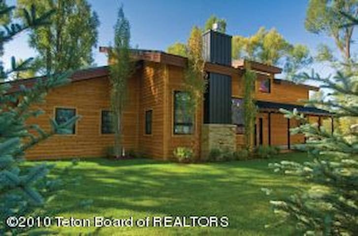Beautiful Wilson Retreat for Solar Eclipse! - Wilson - Hus
