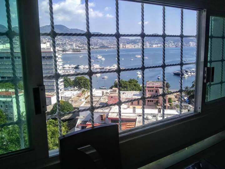 Departamento con excelente Vista y Ubicación