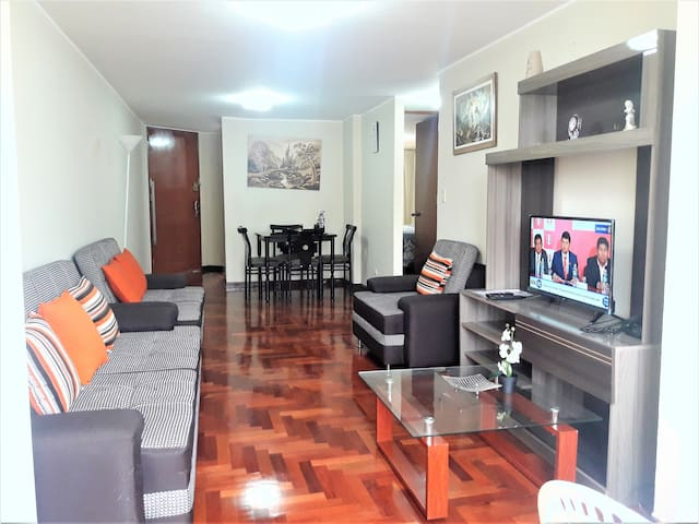 Flat close to Financial Center of San Isidro