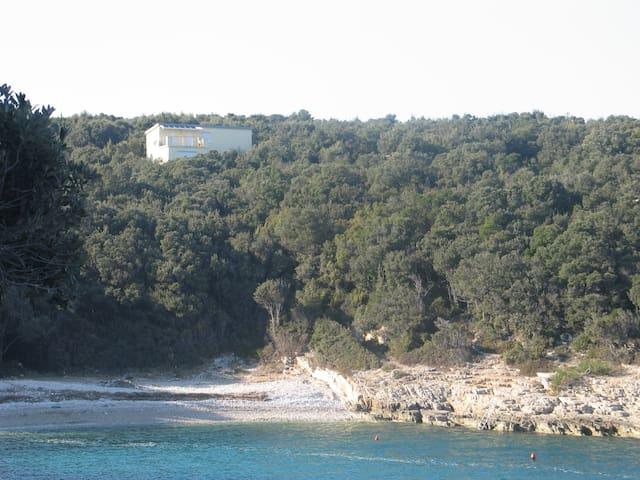 Villa Evelyna in nur 3 Minuten zum Strand - Peruški - Wohnung