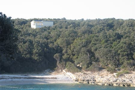 Villa Evelyna in nur 3 Minuten zum Strand - Peruški - Selveierleilighet
