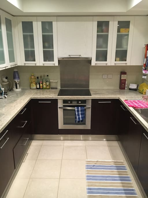 Fully-functional and spacious kitchen