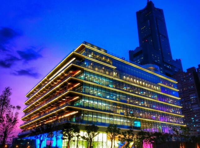 愛河旁無敵高雄港海景·歐陸式風格·特大空間·Invincible Kaohsiung seaview - Lingya District - Apartamento
