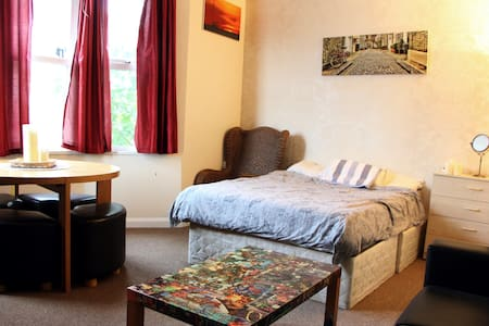 Big Double Room well communicate in Garden House - London