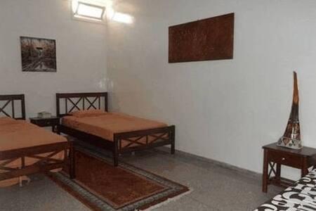 Chambre avec 2 lits simples - Tamraght
