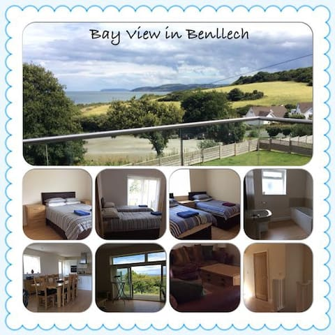 Beautiful House overlooking Benllech Bay - Benllech - Rumah