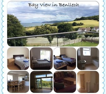 Beautiful House overlooking Benllech Bay - Benllech - 一軒家