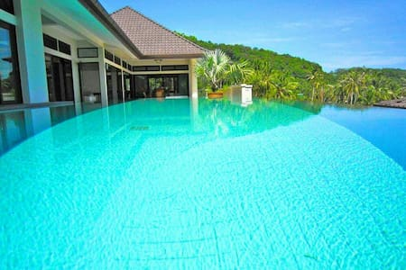 Beach Front View Tai Pan Villa 4Bedroom ,CapePanwa - Phuket